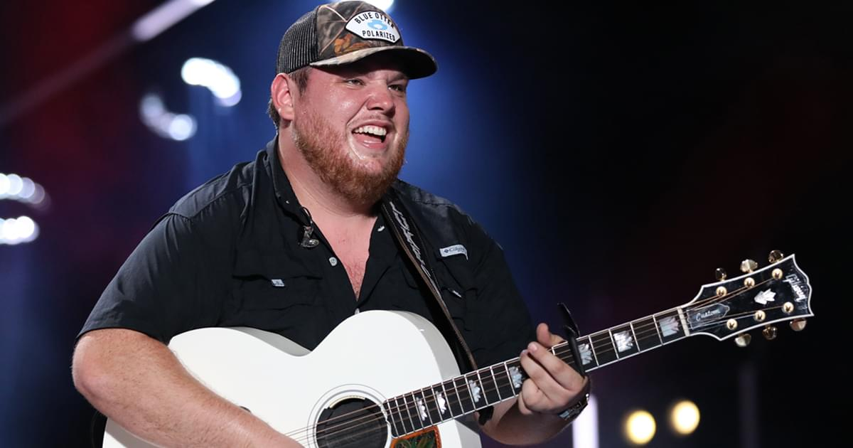 Luke Combs Says Garth's Absence From CMA Entertainer of the Year Category Will Keep Him Wondering
