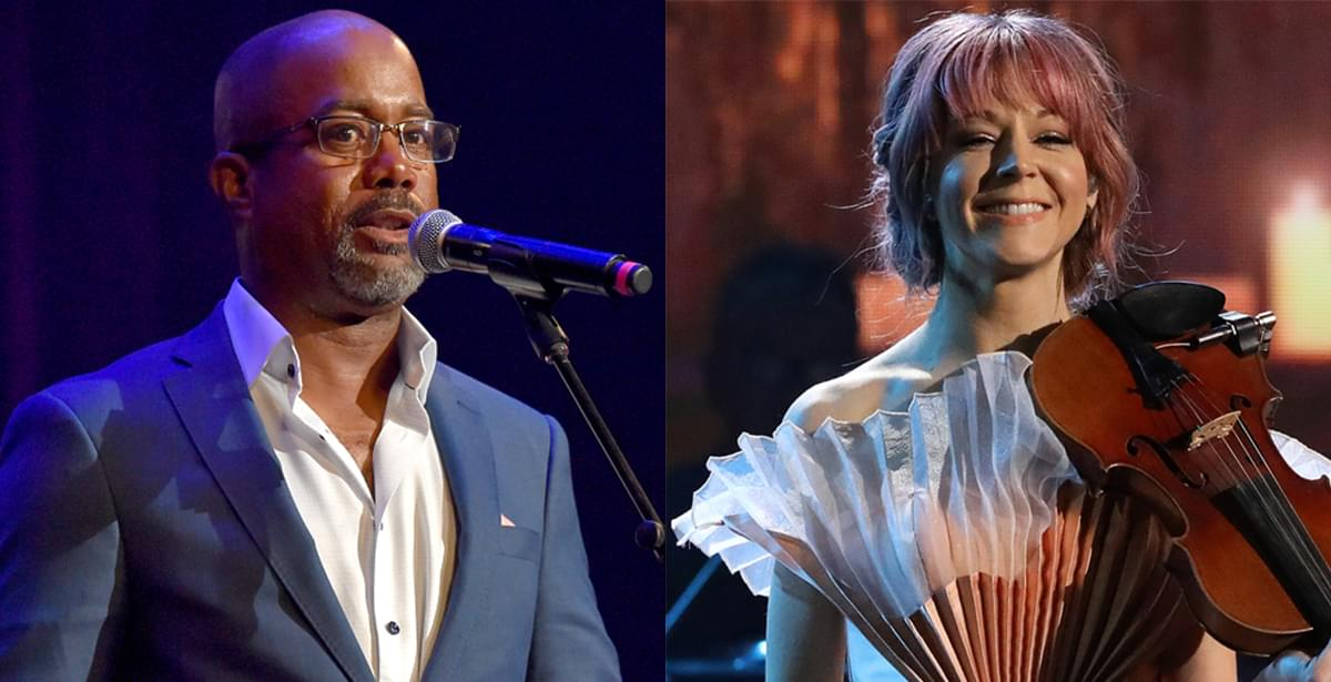 "Darius Rucker Teams With Violinist Lindsey Stirling for New Rendition of ""What Child Is This"" [Listen]"