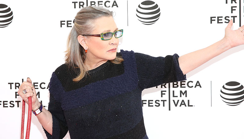 Actress and Writer Carrie Fisher has Died