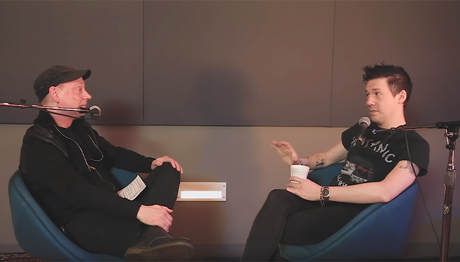 Tobias Forge talks about the beginning and future of Ghost   The Lounge