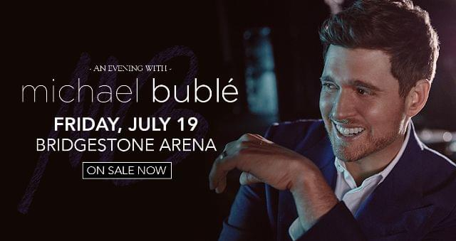 Enter to Win Michael Buble Tickets!