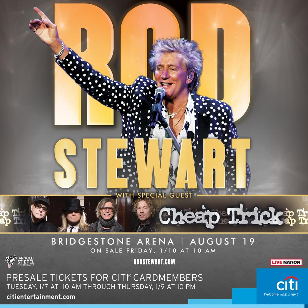 Enter to Win Tickets to See Rod Stewart!