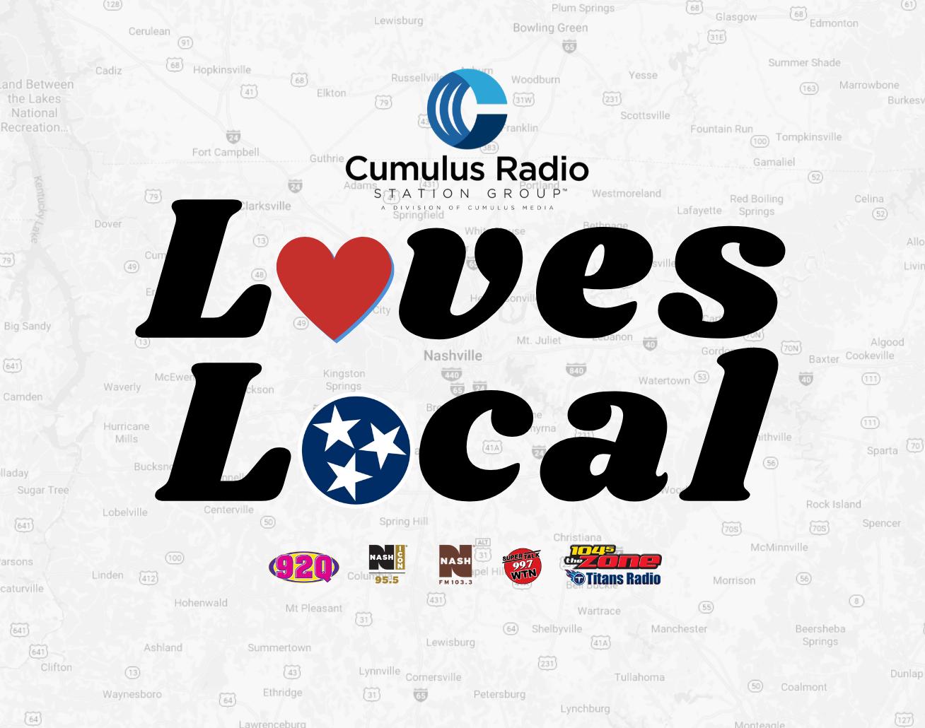 SuperTalk 99.7 WTN Loves Local