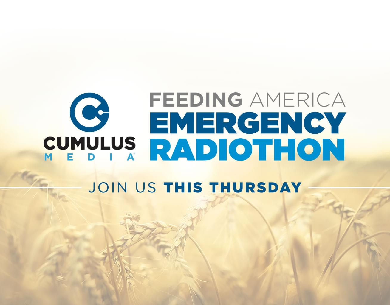 Radio Cares: Feeding America Emergency Radiothon