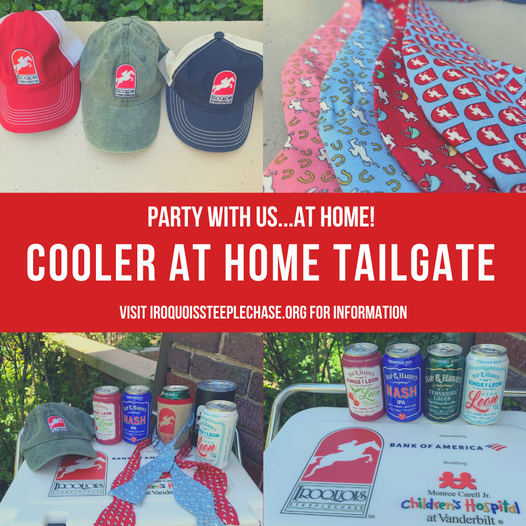 Iroquois Steeplechase – Cooler at Home Tailgate