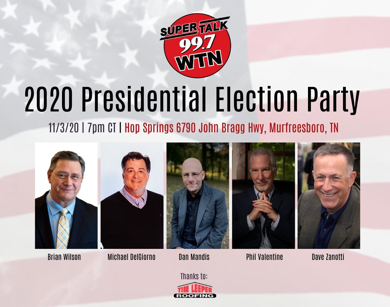 2020 Presidential Debate & Election Coverage