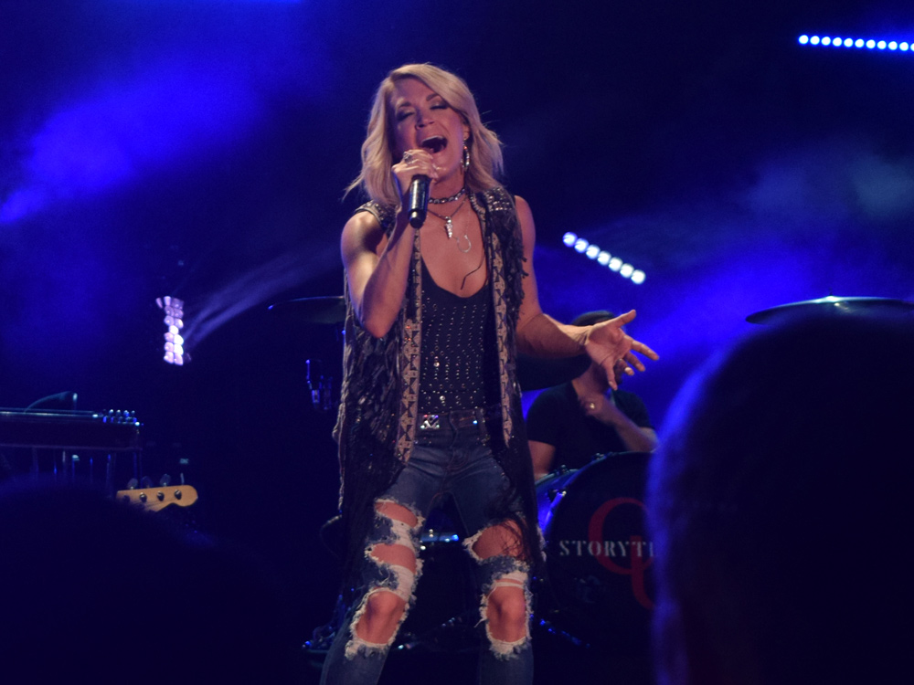 "Watch Carrie Underwood's Ringing Performance of ""Church Bells"" From ""Country's Night to Rock"""