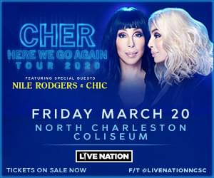 Cher — Here We Go Again Tour