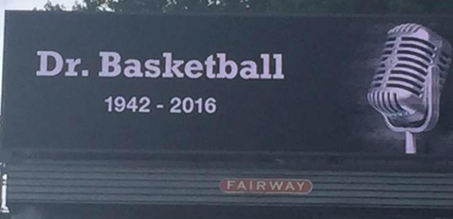 Goodbye, Dr. Basketball