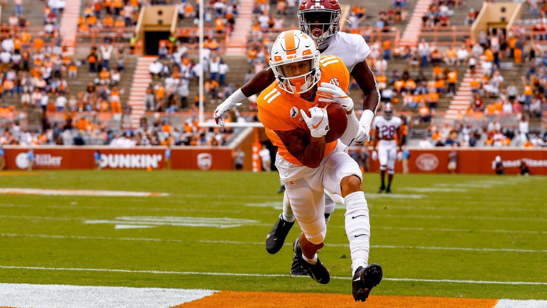 VOLS FALL TO TIDE