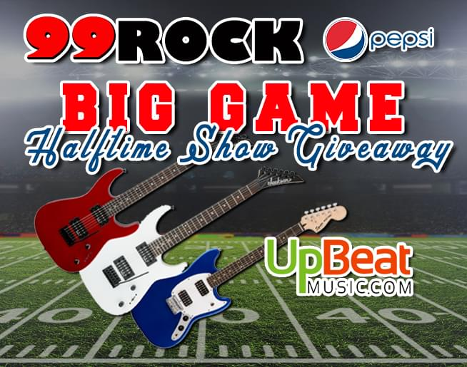 BIG GAME HALFTIME SHOW GIVEAWAY
