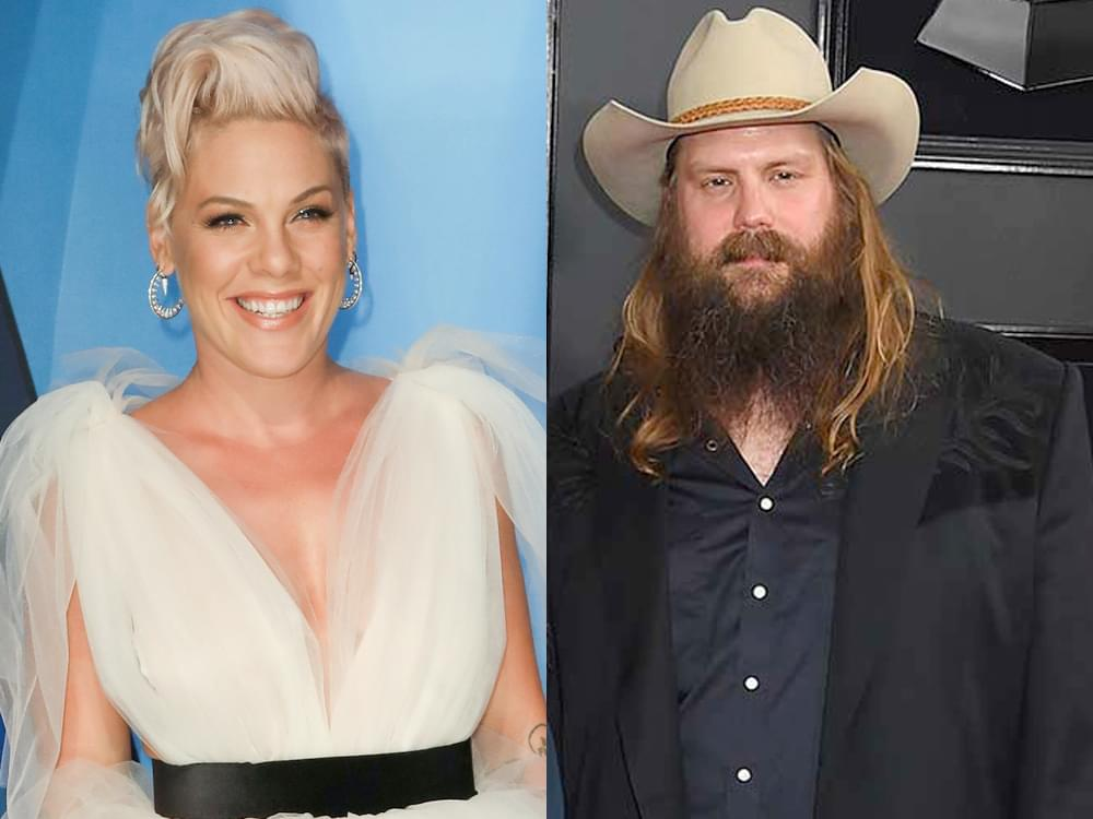 Chris Stapleton Featured on Pink's Upcoming Album