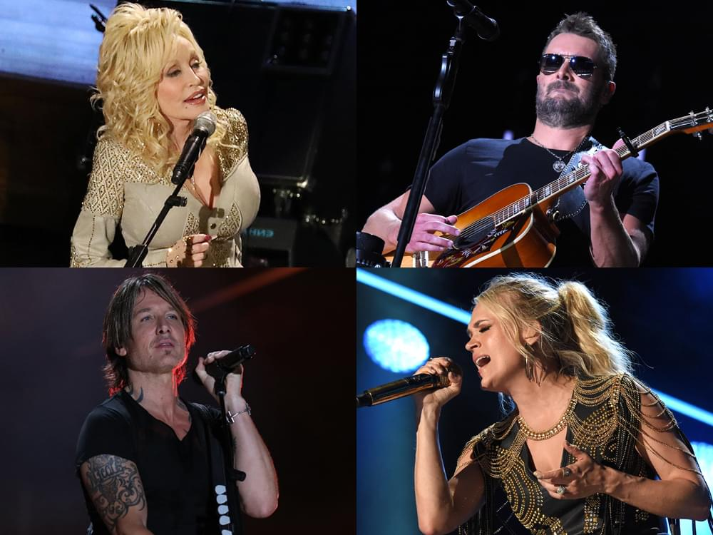 CMA Awards Announce First Round of Performers, Including Dolly Parton, Carrie Underwood, Eric Church, Keith Urban & More