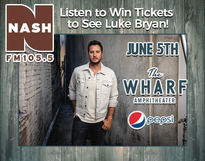 Luke Bryan at The Wharf!