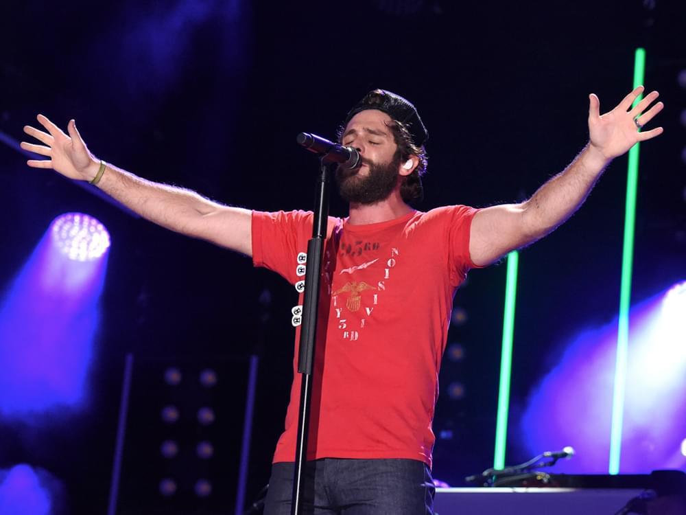 "Thomas Rhett Announces Rescheduled Dates on ""Center Point Road Tour"""