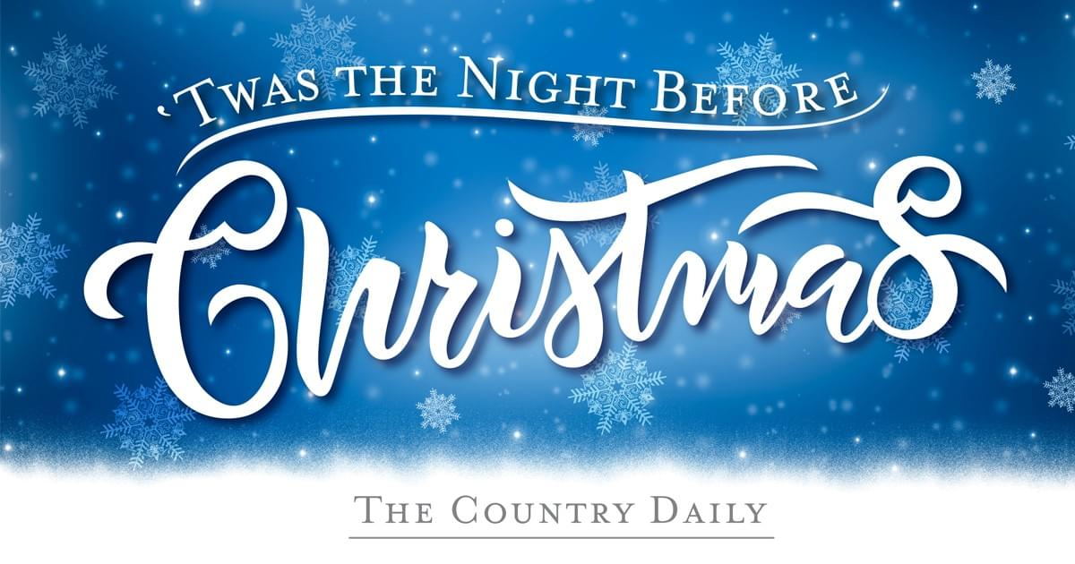 Country Stars Read 'Twas the Night Before Christmas (Version 1)