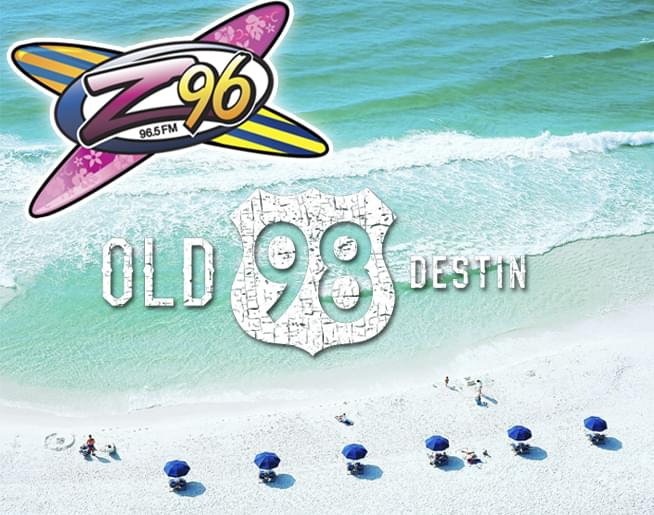 Z96 Beach Cams from Old 98 Destin