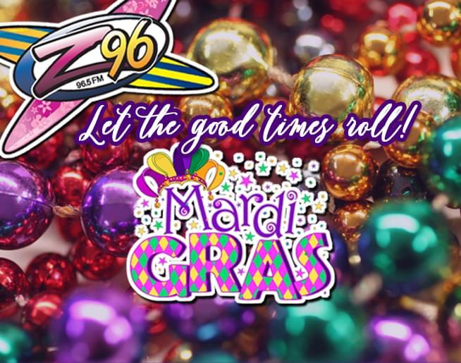 Mardi Gras 2020 with Z96