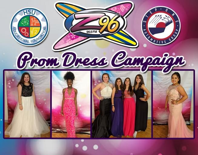 Z96 Prom Dress Campaign 2020