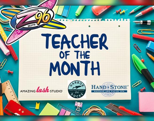 Z96 Teacher of the Month