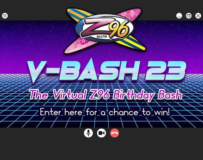 V-BASH 23 – The Virtual Z96 Birthday Bash