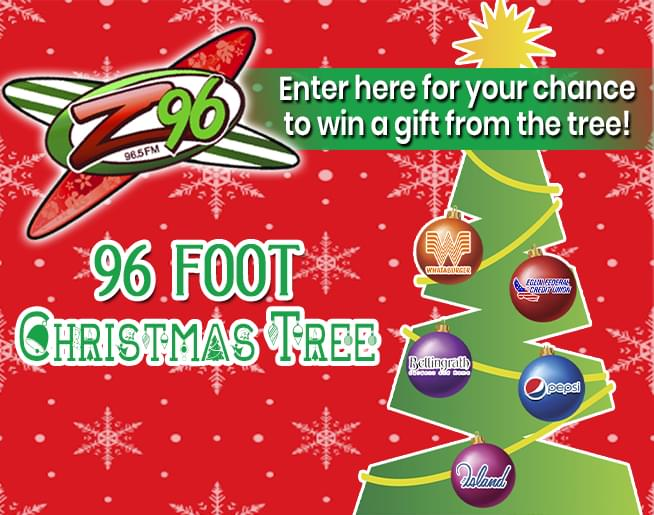 The 96-Foot Christmas Tree from Z96