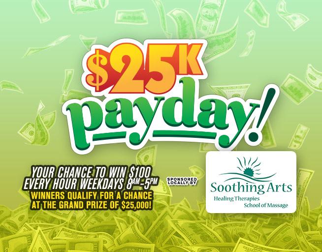 $25K Payday on Z96