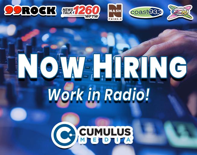 Cumulus Media is NOW HIRING!