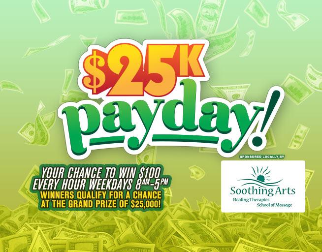 The $25K Payday on Z96
