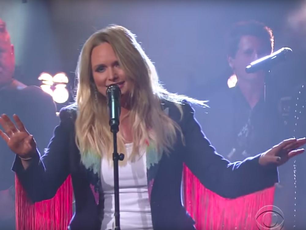 """Watch Miranda Lambert's Free-Spirited Performance of """"Highway Vagabond"""" on """"The Late Show"""""""