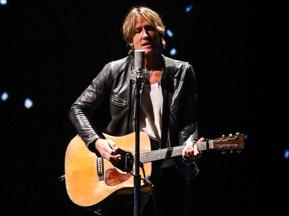"Keith Urban Drops Illuminating New Video for ""God Whispered Your Name"" [Watch]"
