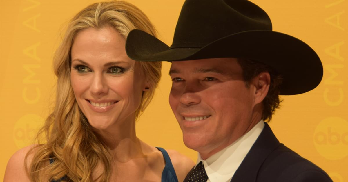 Clay Walker & Wife Jessica Are Expecting a Baby Boy