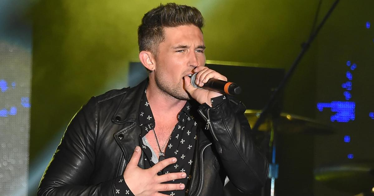 """Michael Ray Tries to Wash Away the Past With New Single, """"Whiskey and Rain"""" [Listen]"""