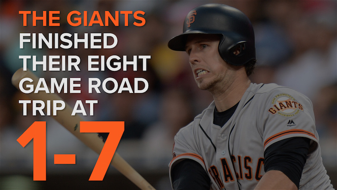 ▶︎ Heart of the lineup slumping for Giants post All-Star break