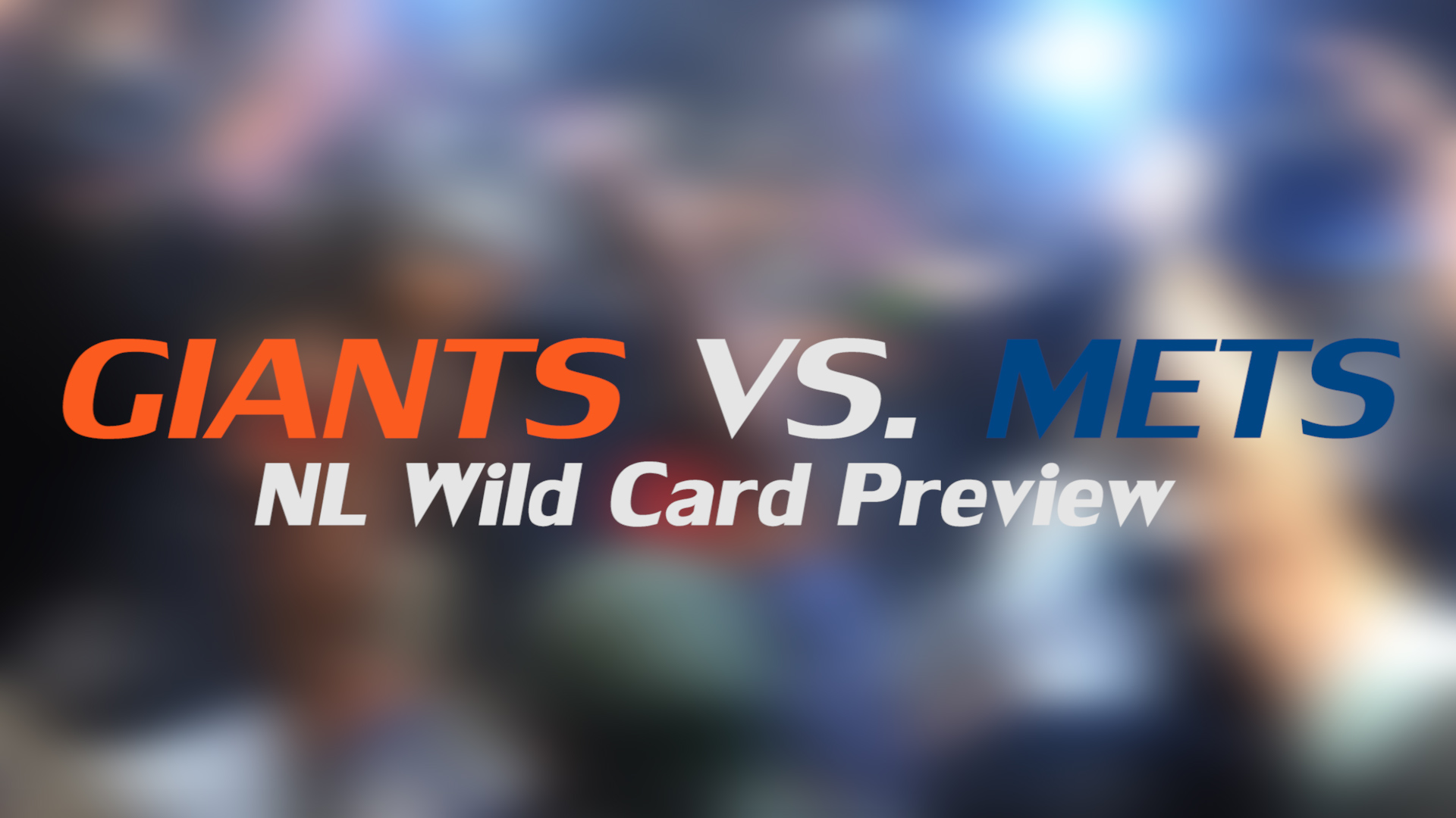 Giants vs. Mets 2016 NL Wild Card preview