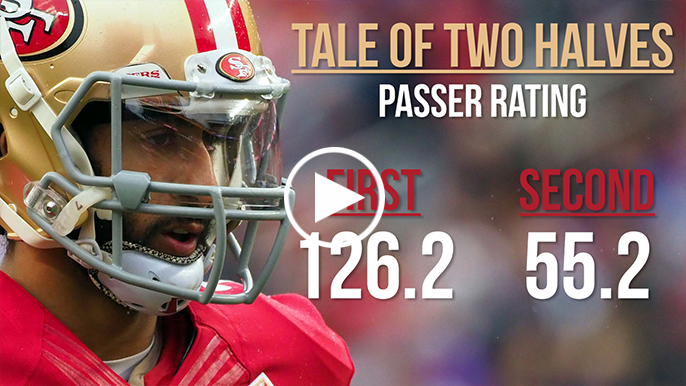 Colin Kaepernick: A Tale of two halves