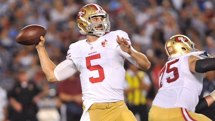 Christian Ponder is the only option the 49ers have left | KNBR