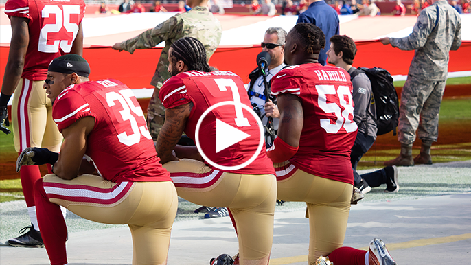 Woodson: For Kaepernick, voting was 'too important to sit out'