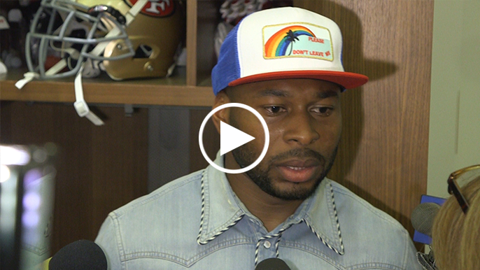 Antoine Bethea visibly frustrated following home loss to 4-4 Saints