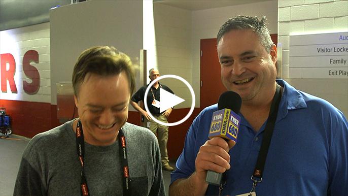 Krueger's hilarious chance elevator ride with Baalke encapsulates 49ers season