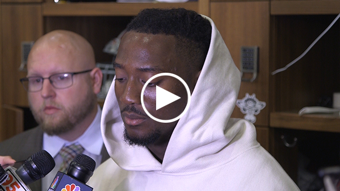 Eli Harold: 'It hurts…We really thought we could win this one'