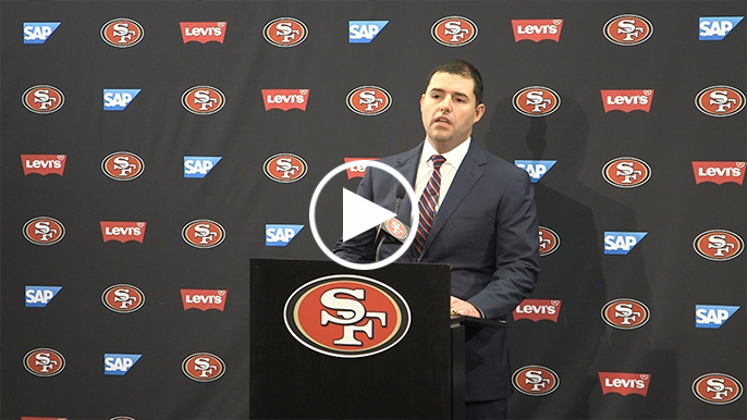 Kevin Frandsen gives player perspective on Jed York's press conference