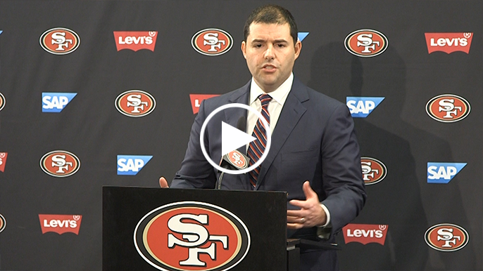 Jed York explains why he's qualified to lead search for new 49ers HC and GM