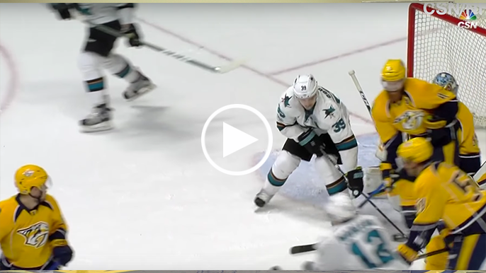 Rod's Riffs: Logan Couture eats a hockey puck