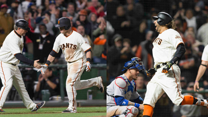 AUDIO: Arroyo and Morse fuel Giants comeback over Dodgers with clutch home runs