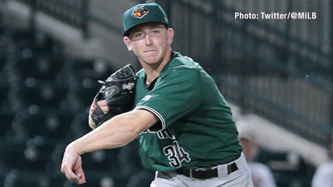 Giants prospect who threw perfect game joins Murph & Mac