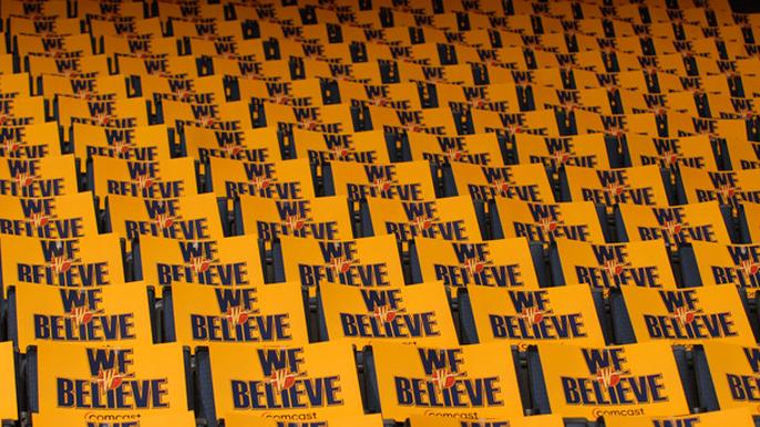 "Warriors will celebrate ""We Believe"" team Game 1 vs. Jazz"