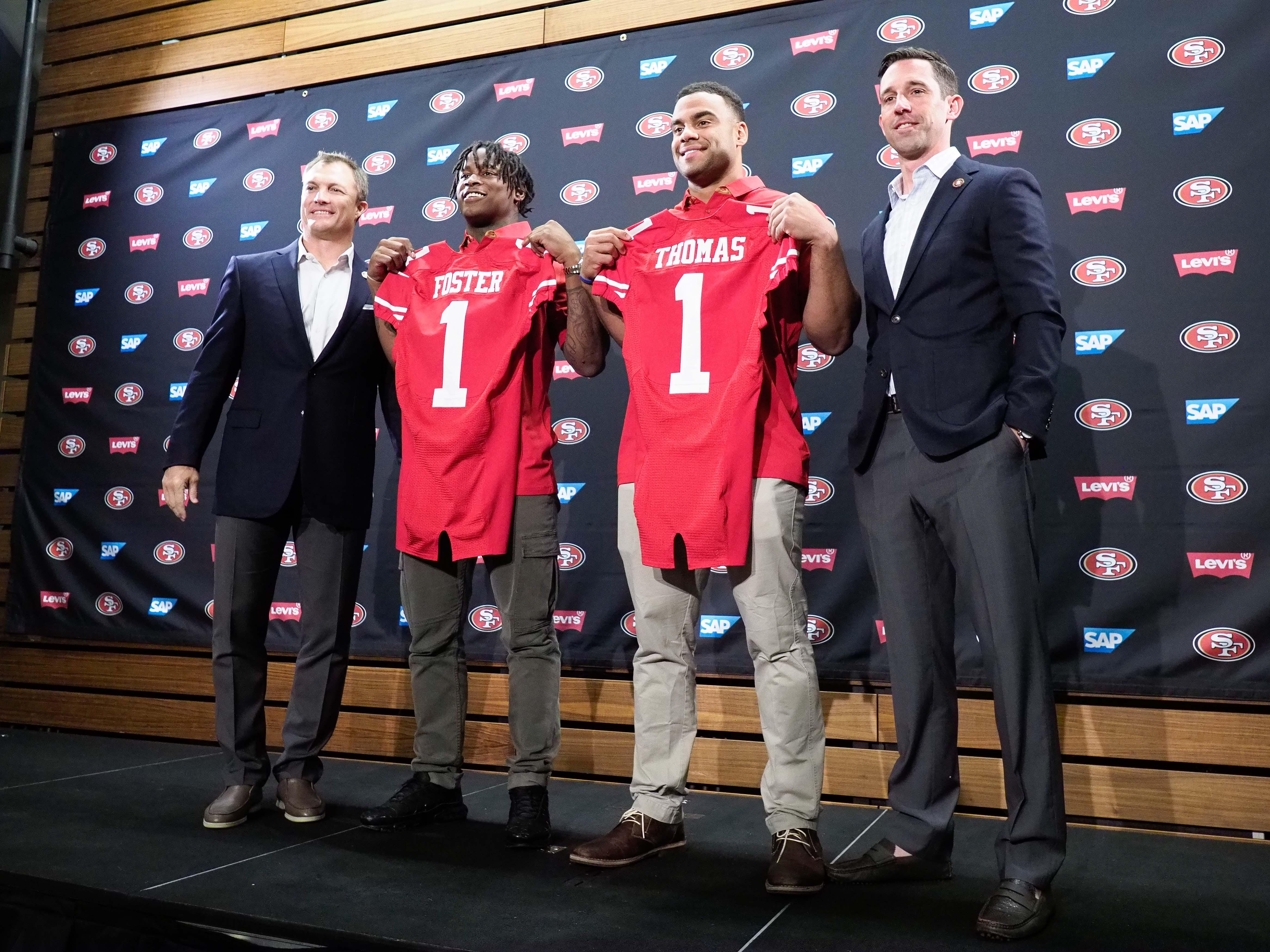 NFL Draft: Larry Krueger offers grades for Lynch, Shanahan