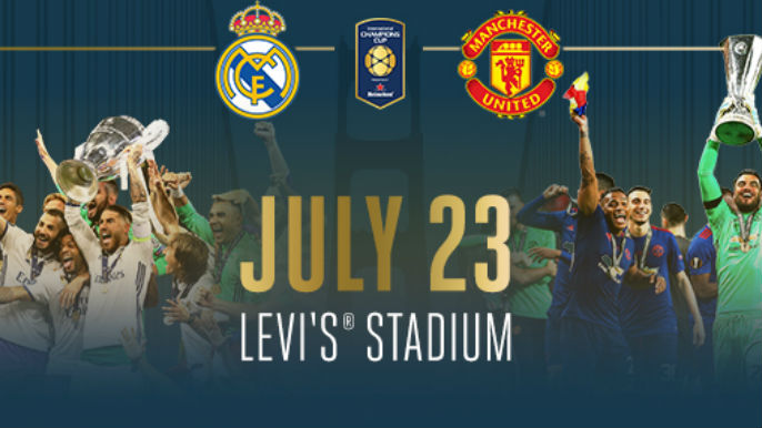 Two of the world's biggest soccer clubs clash at Levi's Stadium this summer