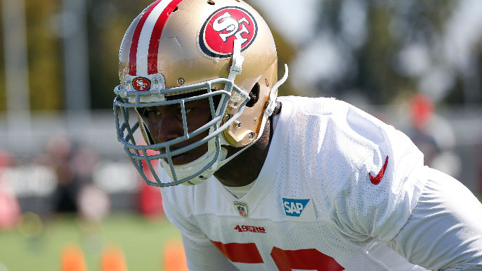 Reuben Foster is starting to earn the 49ers' trust